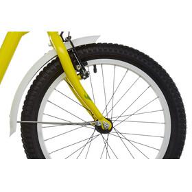 s'cool niXe 18 - Vélo enfant - Steel jaune